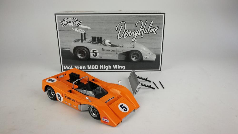 hulme: denny hulme's 1969 mclaren m8b can-am high winged car - price