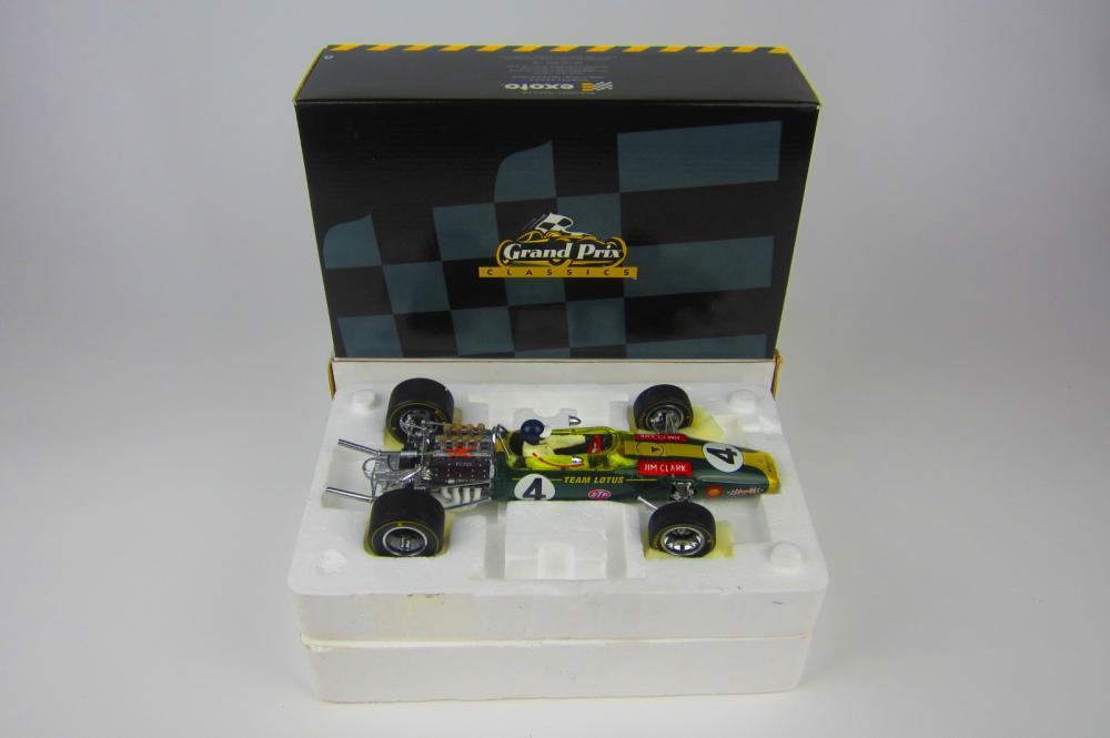 LOTUS: A 1:18 scale Lotus Ford Type 49 by exoto  - Price