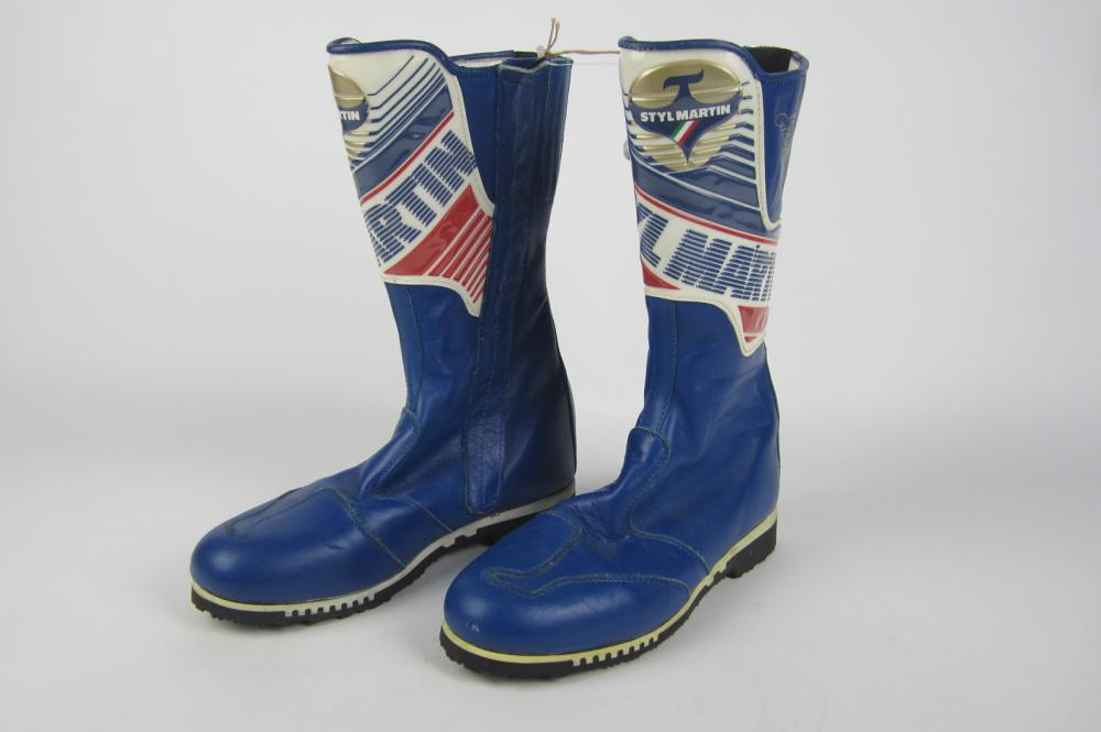 Styl Martin A Pair Of Styl Martin Mens Motorcycle Boots Price Estimate 100 150